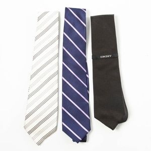 DNKY, Stanford and Donald Trump Tie Bundle Lot